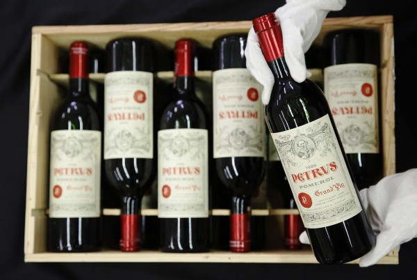 Petrus steals the show at Bonhams sale