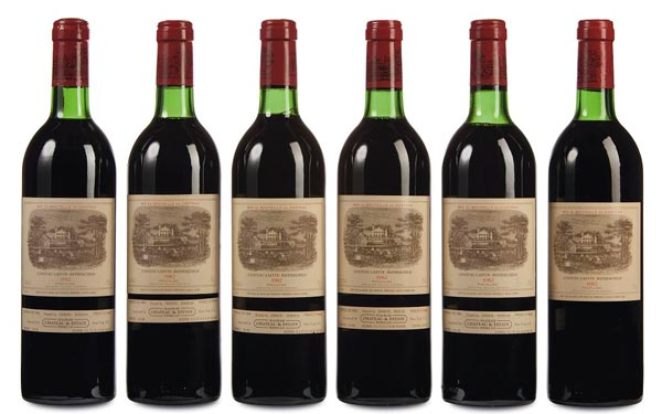 New auction records for Chateau Lafite