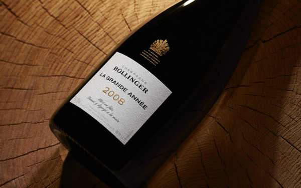 Bollinger Grand Annee 2008 completely sells out in UK