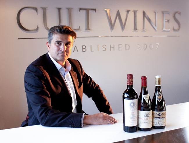 Olivier Staub - Cult Wines Investment Director