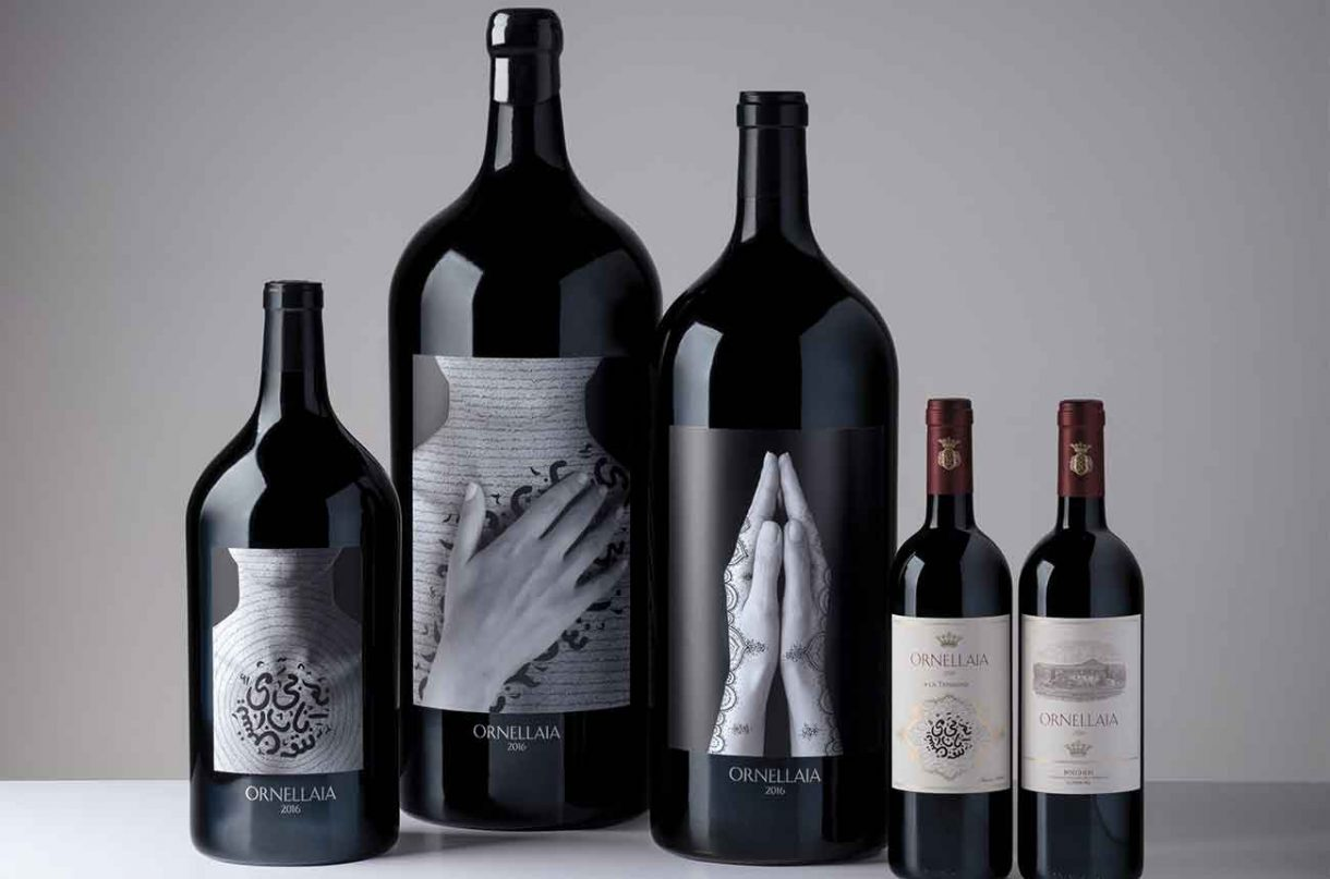 Ornellaia reveals label designs for 2016 vintage