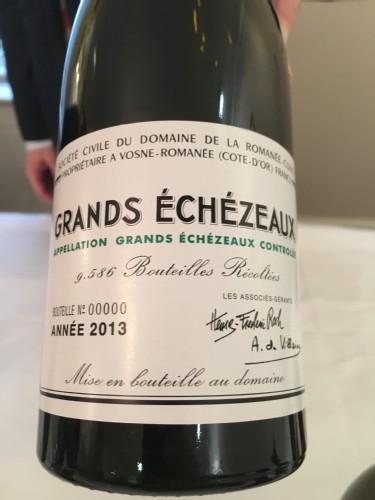 Grands Echezeaux 2013