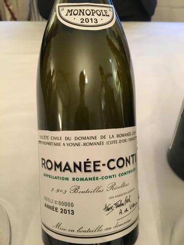Romanee-Conti 2013