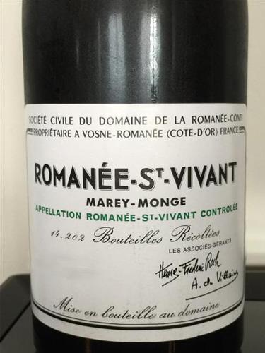 Romanee Saint Vivant 2013