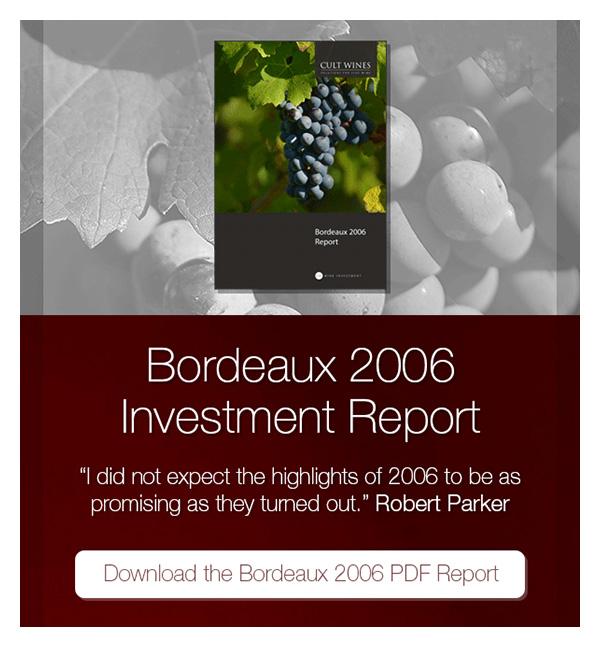 Bordeaux 2006 Investment Report
