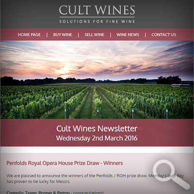Cult Wines Newsletter 02/03/16