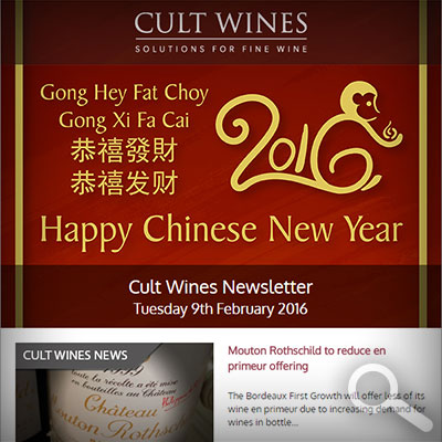 Cult Wines Newsletter 09/02/16
