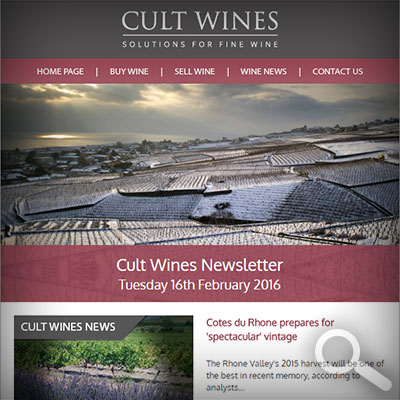 Cult Wines Newsletter 16/02/16