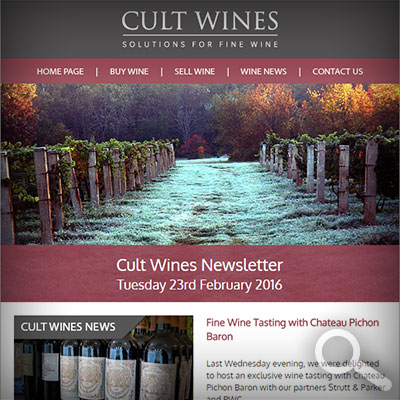 Cult Wines Newsletter 23/02/16
