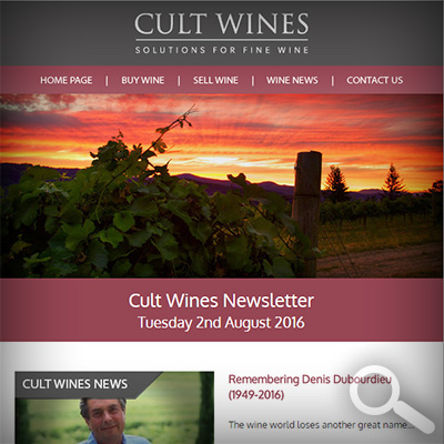 Cult Wines Newsletter 02/08/16