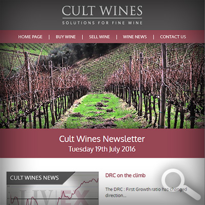 Cult Wines Newsletter 19/07/16