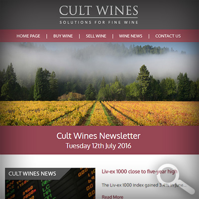Cult Wines Newsletter 12/07/16