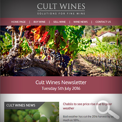 Cult Wines Newsletter 05/07/16